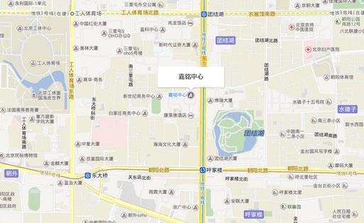 北京嘉铭中心交通情况